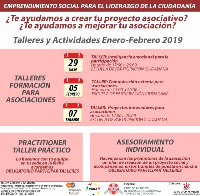 flyer general proyecto emprendimiento social enero-febrero 2019